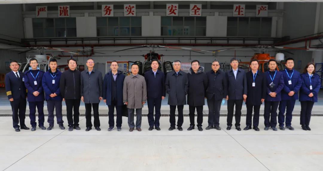 省国资委王海鹏主任一行到陕直股份、秦汉通航调研考察